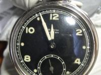 Neat antique Westclox Pocket Ben watch features a black