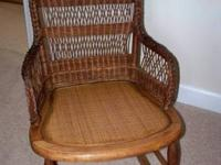 "Call:  $150 18""W x 26""D x 33""H Natural brown stain"