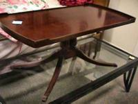 Antique Wood Coffee Table  Get there 1st and check it
