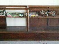 Moving and need to sell this antique display case.