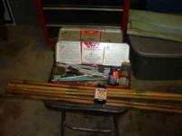 I am selling a5 antique wood gun cleaning rods and a