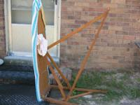 Antique Wood Ironing Board, Good Condition, $20, (803)