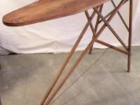 Antique Wood Ironing Board Store Display / Ironing