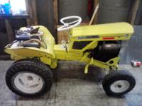 Its a 1961 Allis Chalmers b-1 yard tractor. It comes