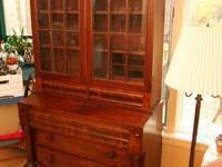 Antique19thC Empire Secretary Desk Bookcase...call Sean