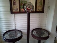 Antique auto furniture made from 1929 Ford Model A