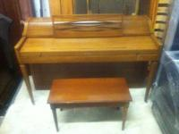 Beautiful piano. It's in great shape and working order.