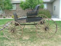 I have an 1880's Antique one horse one seat buggy FOR
