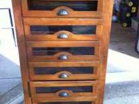 Antique chest of drawers. Approximately 5'10 inches