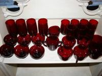 Right here is a set of Royal Ruby see with red meals