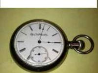 1888 Elgin pocket watch. Serial # 3698329 This has 11