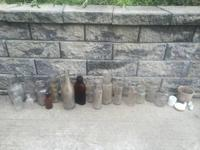 These bottles came from our yard in Danville. They are