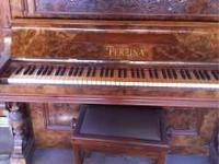 I'm looking to sale this antique perzina piano I've be