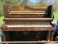 Antique Piano manufactured in 1918-1919 according to