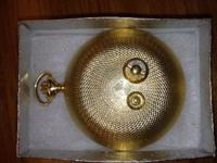 "1960/1970 Gruen Pocket Watch Music box plays ""I've Been"