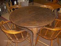 A great old antique authentic saloon table from the