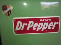 This is an Awesome Antique/Vintage DR. Pepper Vending