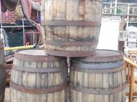 Antique Lumber Barrels  $ONE HUNDRED Each  3 Readily