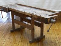 "This bench is 84"" long and 30"" large, including the"