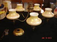 For sale one 70's-80's era antiqued brass look