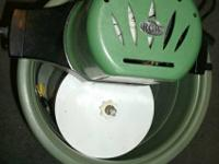 *Vintage Green Model 71 4-qt. Ice Cream Maker - $25