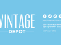 About Vintage Depot: We're a family owned and operated