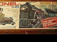 ANTIQUES FOR SALE 2. lionel train sets 1. lionel train