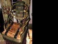 1 horn chair from 1893 Worlds fair 1 1920's Hotpoint