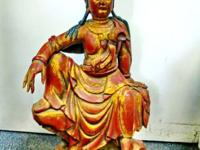 Guan Yin is the bodhisattva of compassion and wisdom in