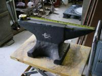 Large Anvil 250lbs Southern Cresent USA, or Lg. Swage
