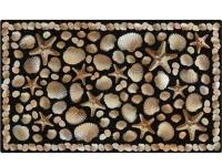 The Seaside 18 in. x 30 in. Recycled Rubber Door Mat