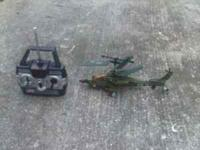 I'm selling a brand new 13 inch rc apache helicopter.