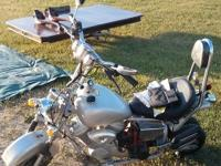 APC chopper gas scooter, bike, mini motorcycle Found in