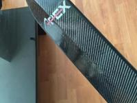 I have an Apex carbon fiber paddle from Canada. This