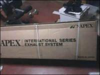 Brand new in box apexi n1 catback exhaust system for a