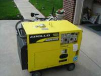 I bought a brand new generator just never got to use.
