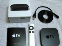 FOR SALE.  Apple TV 2 JAILBROKEN to play complimentary