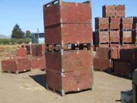 "Used Apples Bins - 45""X48"" all plywood. $15.00 each."