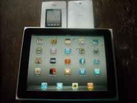 I Pad 32 Gig, WiFi. Lightly used and in Perfect