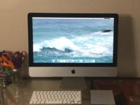 I purchased my iMac in August 2013, but my new job