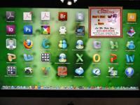 "Apple iMac MB950LL/A 21.5"" LCD Desktop Core 2 Duo"
