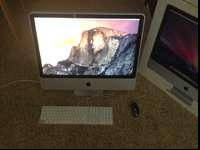 "This is top spec iMac from 2008 24"".Perfect working and"