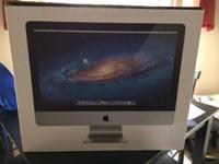 Selling a 2011 21.5 iMac. No trades cash only.  2.5 GHz