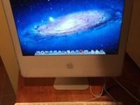 "Apple iMac A1195 17"" All in One Computer-$150 OSX"