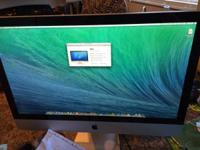 Hey there I'm selling my IMac 27inch aluminum Running
