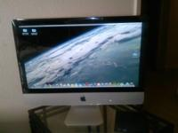 Apple iMac all-in-one desktop computer with OS-X. 8GB