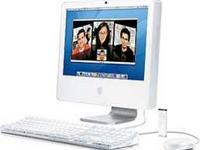 The Apple iMac G5/1.8 17-Inch, along with the