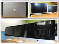 "(55+) 24"" - 20 "" Apple iMacs & MacMini, (30+) 30"" - 19"""