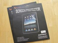 Ipad (1) screen protector for 15 each, 2 pieces