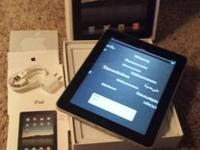 Apple iPad 1st Generation 16GB WiFi.  In Superb